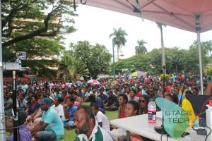 A jam packed Sukuna Park raised more than $17,000, two thousand dollars more than the targetted amount.