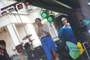 accapela crooner Gali Vulaciri of the girl group Accalewas
