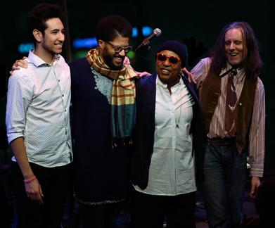 Abraham Rounds, Chris Bruce, Meshell Ndegeocello, Jebin Bruni