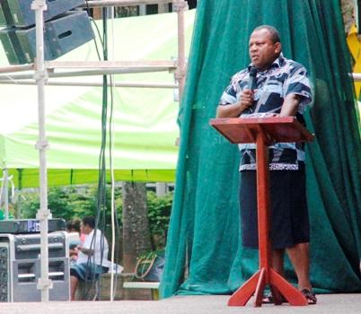 Gospel Festival for Cyclone Winston